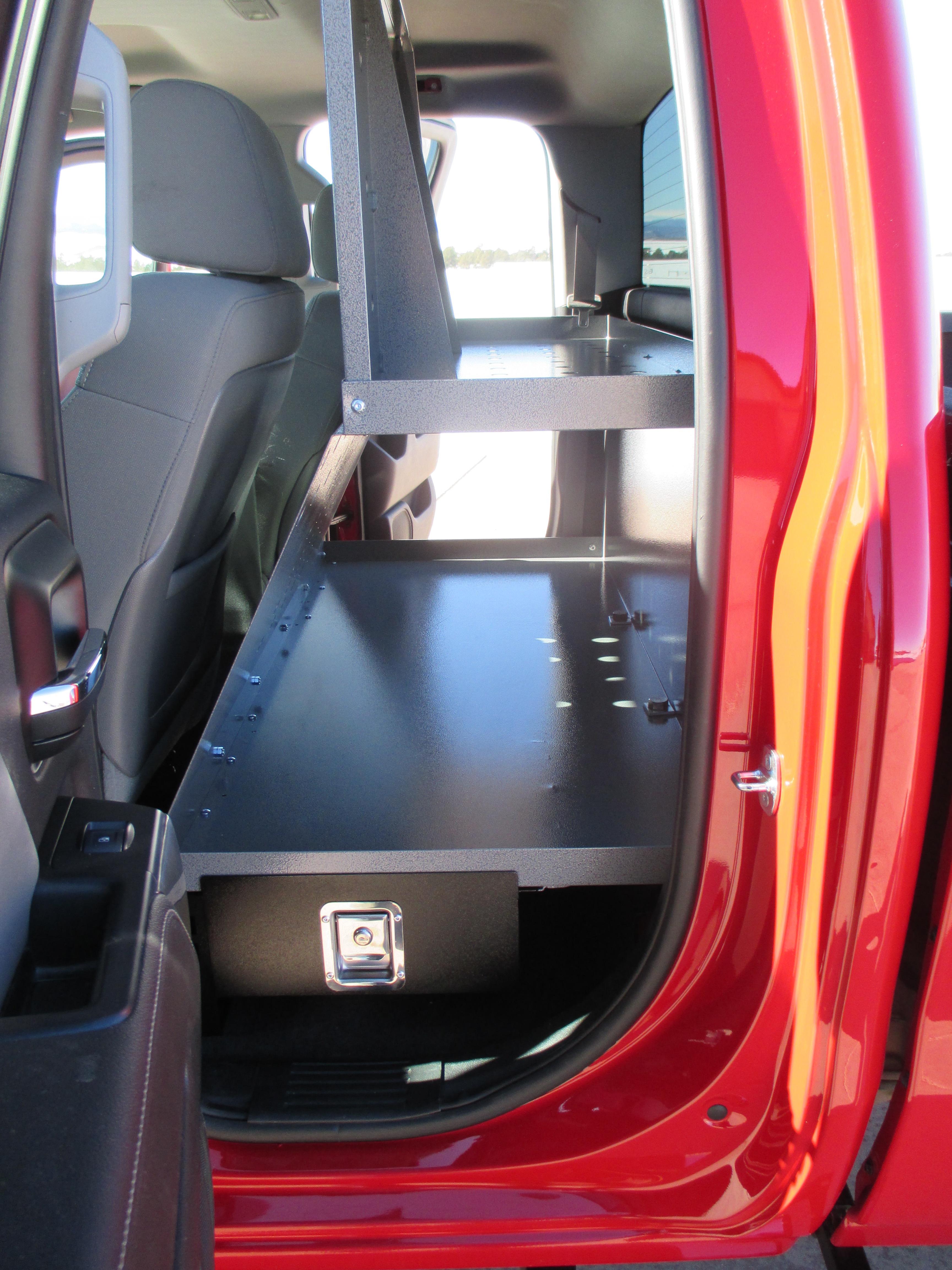 Cargodeck Truckoffice Truck Cab Storage Systems