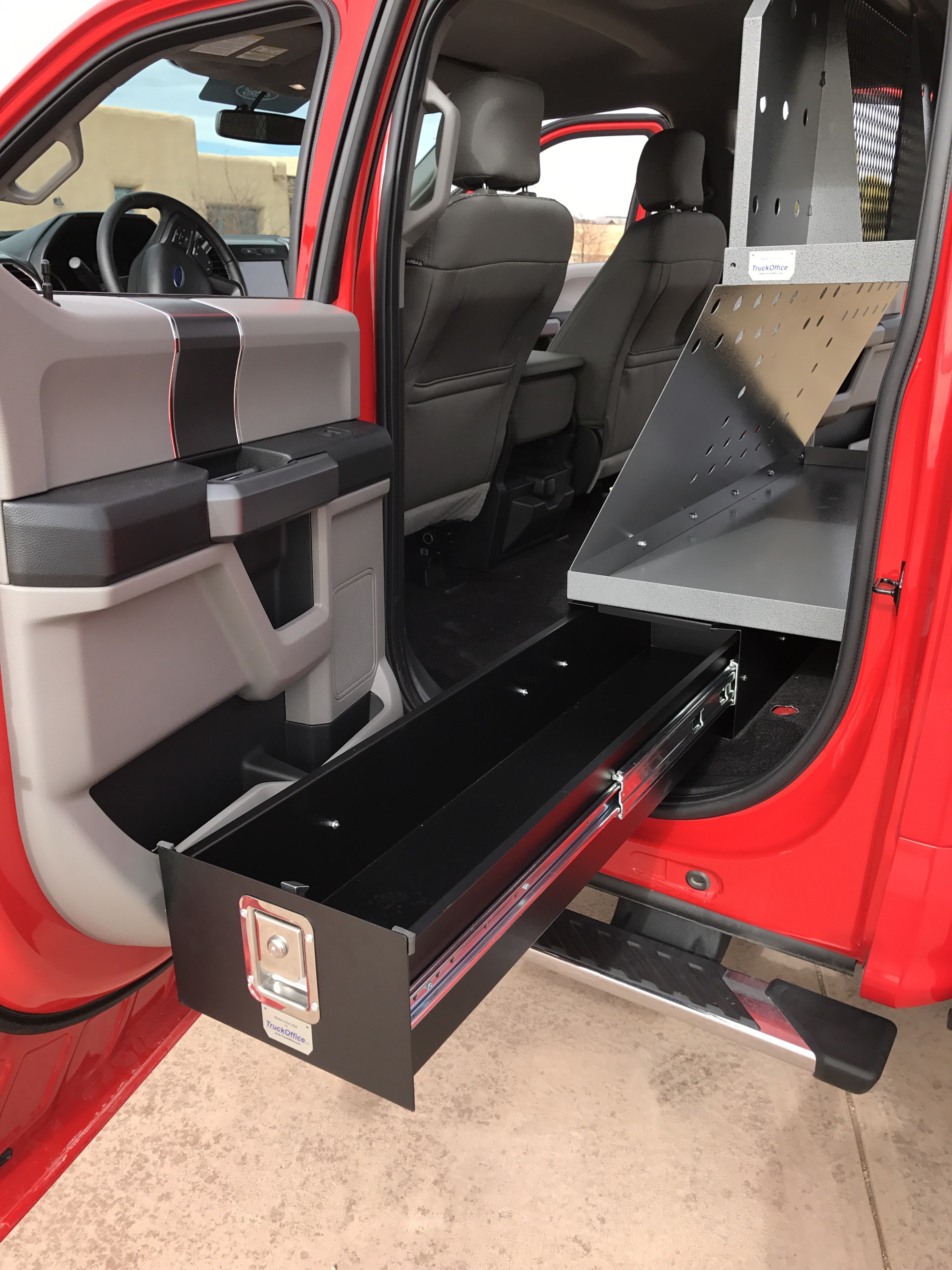 Products Overview | TruckOffice Truck Cab Storage Systems